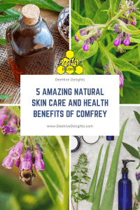 benefits of comfrey natural skin care