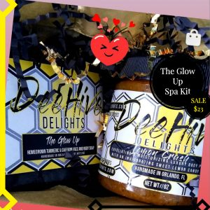 Deehive Delights Glow up spa kit
