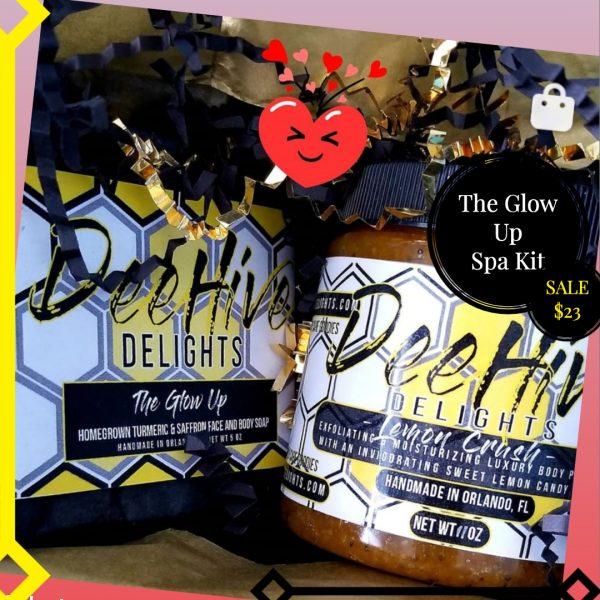 Deehive Delights Glow up spa kit