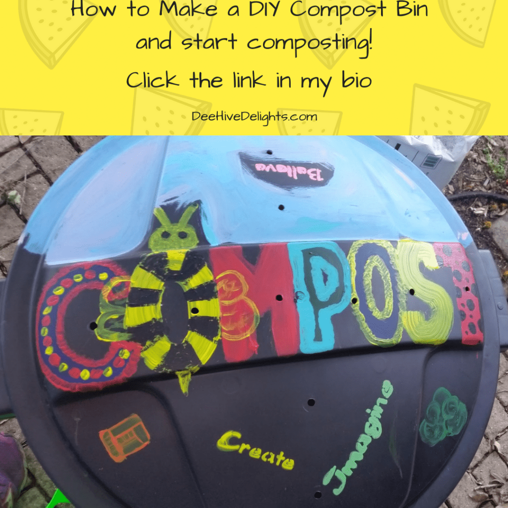 DIY how to make a compost bin
