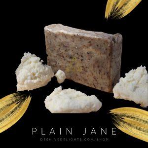 plain jane unscented face soap