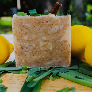 lemongrass natural skin care soap