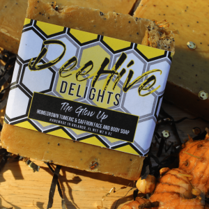 Deehive Delights Turmeric Saffron Face Soap The Glow Up