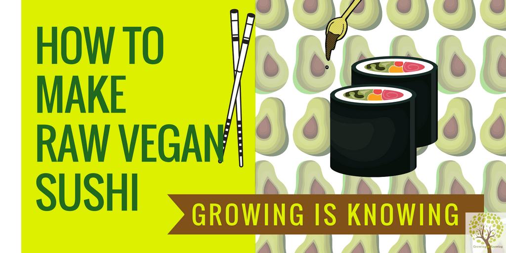 raw vegan sushi recipe video