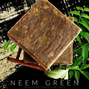 neem unscented face soap
