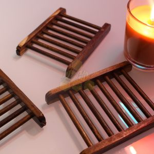 Bamboo Soap Dish Deehive Delights