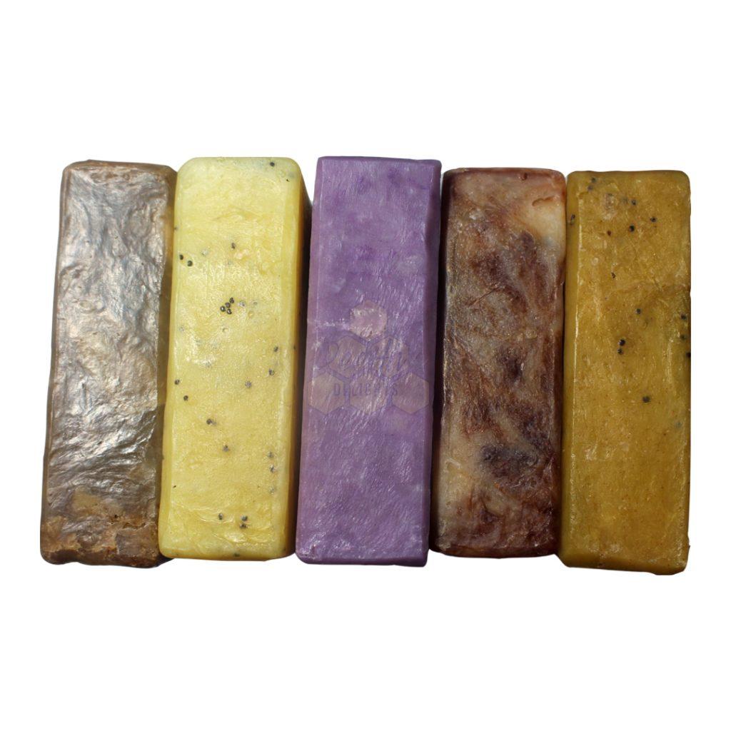 natural any 5 soap bars