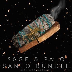 sage and palo santo bundle deehive delights